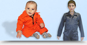 Children / youth coveralls